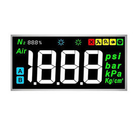 4 Digit 7 Segment Color VA LCD Display With Silk Printing Custom Design